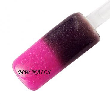 UV Thermo Glittergel Darknude-Pink 5ml