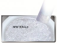 Glitter-Gel White Star 5ml